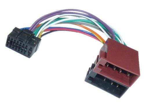 Aerzetix Adapter Konverter Kabel Adapter Stecker ISO Kabelbaum H7 ...