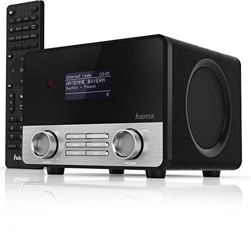 hama internetradio digitalradio mit cd player wlan lan. Black Bedroom Furniture Sets. Home Design Ideas