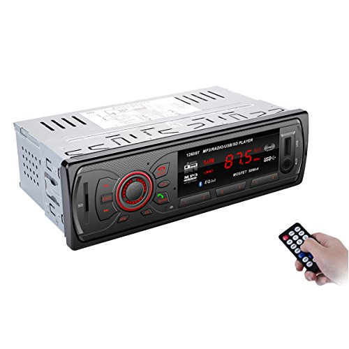 bedee autoradio bluetooth kfz empf nger mp3 player car. Black Bedroom Furniture Sets. Home Design Ideas