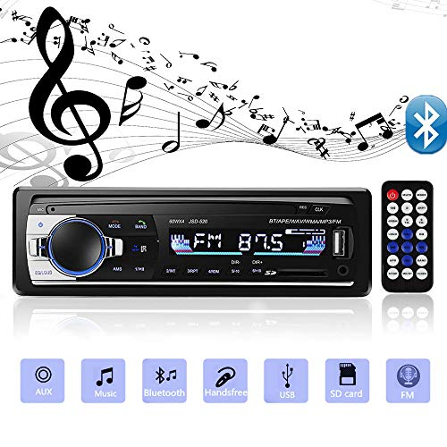 andven jsd 520 autoradio mit bluetooth und usb 4x60w auto. Black Bedroom Furniture Sets. Home Design Ideas